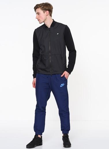 Nike Fermuarlı Sweatshirt Siyah